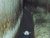 Cunicoli semisommersi nei pressi delle cosiddette grotte di Pilato