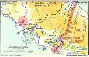 11 Maggio 1944. Linea Gustav. Linea Cesare