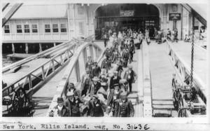 Immigranti a Ellis Island