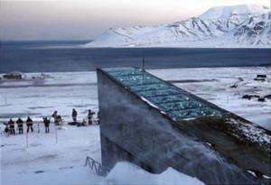 Isole Svalbard. Banca mondiale dei semi