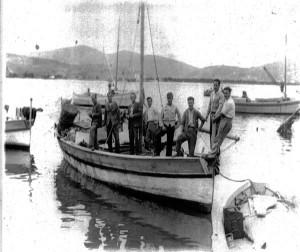 1. Barca ponzese di Silverio Sandolo (Casciaforte)
