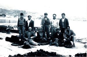 2. Pescatori con Stefano Vitiello ('i Ciccariello) e Duilio Murtas
