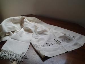 Asciugamani in lino di fine Ottocento