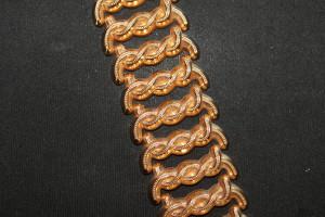 Bracciale in oro rosso dei primi del 900