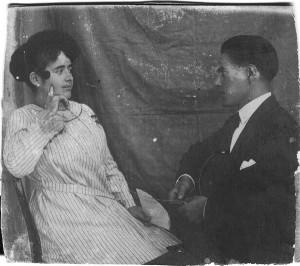 Fidanzati. Foto del 1926