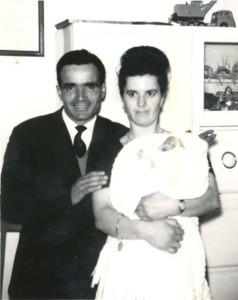 Filippo ed Emilia alla nascita della primogenita