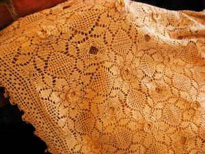 Il copertino a uncinetto di zia Olga.1