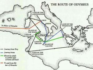La rotta di Odisseo
