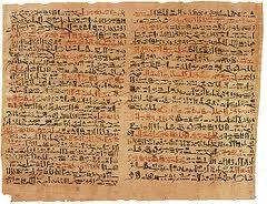 Papiro di Ebers 1550 a.C.