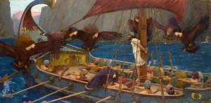Ulisse e le sirene di John William Waterhouse