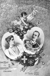le nozze di re Vittorio Emanuele III ed Elena di Montenegro