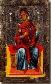 madonna che fila Ocrida XI sec.