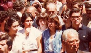 Da sinistra verso destra Stefania Coppa e vicini Rosanna Montella e Tommaso Andreozzi