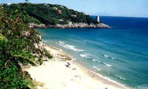 Gaeta. Spiaggia dell'Arenauta