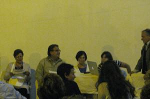 I partecipanti alla presentazione del libro