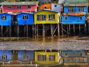 Case palafitte a Chiloé