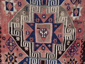 Dettaglio di un Kilim turco (immagine da Wikipedia)