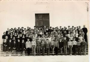 Foto di gruppo. Scuola Avviamento. Anno 1962-63