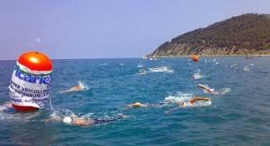 Gara di nuoto di fondo