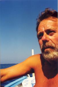 Giovanni. In barca