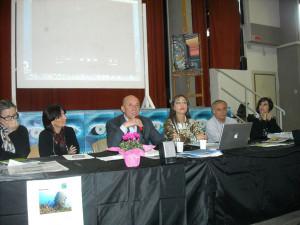 Il Sindaco all'incontro del 21 nov. 2012 al 'Polo artist. di Latina'