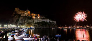 Ischia. Festa di S. Anna. Notte