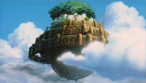 Laputa. Miyazaki. The Castle in the sky
