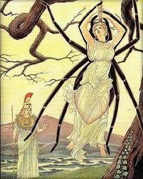 Minerva e Aracne trasformata in ragno