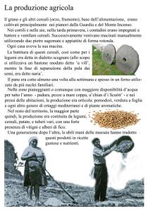 Pannello 4. La produz. agricola