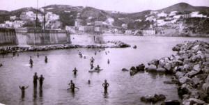 Ponza - la spiaggia della Galetta