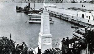Ponza - piazza Pisacane