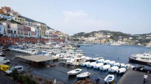 Ponza. Porticciolo turistico