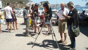 Prime esperienza di astronomia da strada. Ponza 2012