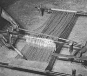 Ricostruzione di un telaio orizzontale