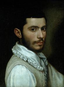 Scipione Pulzone. Autorretrato.1574. Da Wikipedia