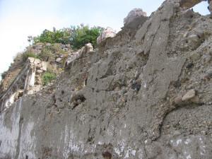 Vecchio muro a Giancos