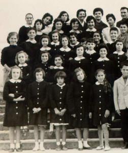 avviamento anno scolastico 1962-1963 - gruppo femminile