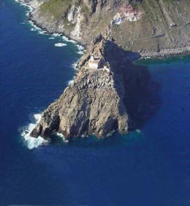 1. Il Faro della Guardia. Veduta da alto e dal mare