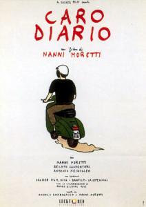 Caro Diario. Moretti. Locandina