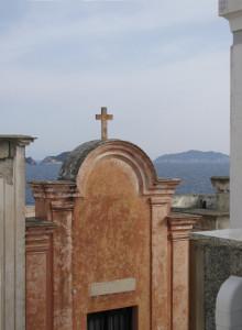 Dal Cimitero. Vista Zannone.JPG