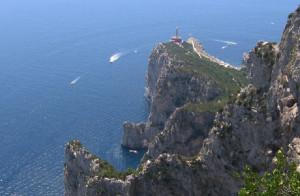Faro sulla rocca di Gibilterra