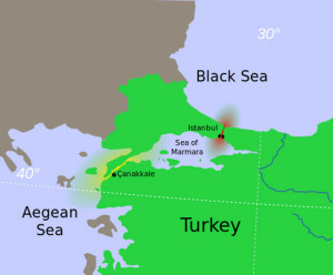 I due stretti sul Mar di Marmara