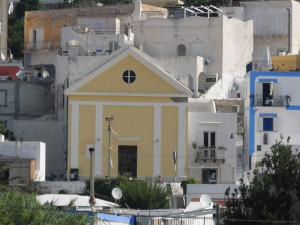 La chiesa di Santa Maria. Facciata