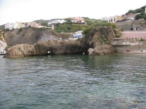 La spiaggetta di Giancos