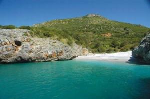 La spiaggia di Cala bianca Camerota SA