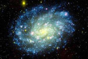 L'immagine di una galassia