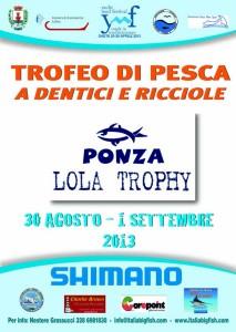 Locandina Lola Trophy 2013