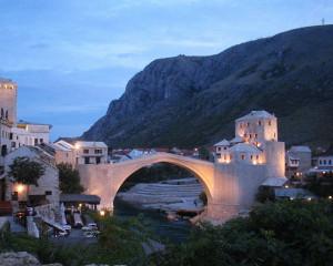 Stari Most ricostruito. Foto del 2004