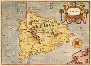 Taprobane. Antica Mappa