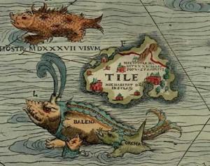Thule_carta_marina_Olaus_Magnus.1539